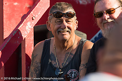 The Iron Horse Saloon during the David Allan Coe free concert. Daytona Bike Week 75th Anniversary event. FL, USA. Sunday March 6, 2016.  Photography ©2016 Michael Lichter.
