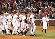 St. John's lost 5-3 to UVa in the NCAA Regional Baseball tournament June 7, 2010 in Charlottesville, VA. (Photo/Andrew Shurtleff)