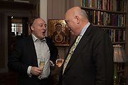 ANDREW ROBERTS; JULIAN FELLOWES, Robin Birley and Lady Annabel Goldsmith Summer Party. Hertford St. London. 5 July 2017
