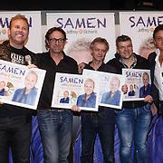 NLD/Amsterdam\/20131025 - CD presentatie Jeffrey Schenk, door Rene Froger , componisten Eric van Tijn en Jochem Fluitsma