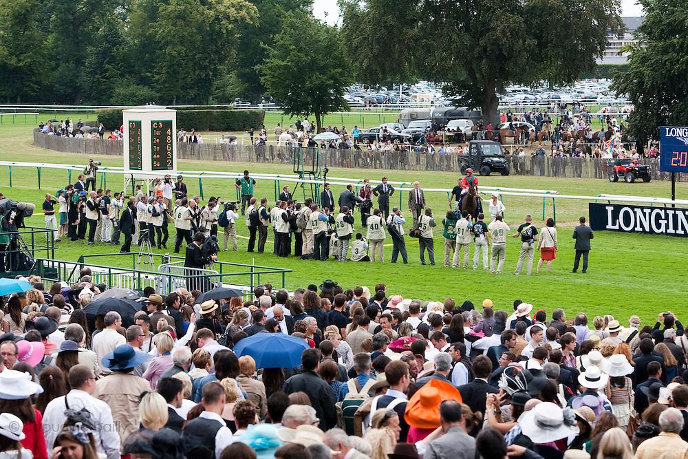 Hippodrome de Chantilly, France. June 12th 2011.Prix de Diane Longines 2011.Prix de Diane