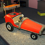 NLD/Apeldoorn/20081101 - Opening tentoonstelling SpeelGoed op paleis Het Loo, kinder racewagen van Willem Alexander gebouwd door zijn vader prins Claus