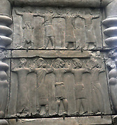 Cast of palace doorway.  Persepolis, Iran about 40-450 BC.  Persepolis was an important city at the heart of the Persian Empire.