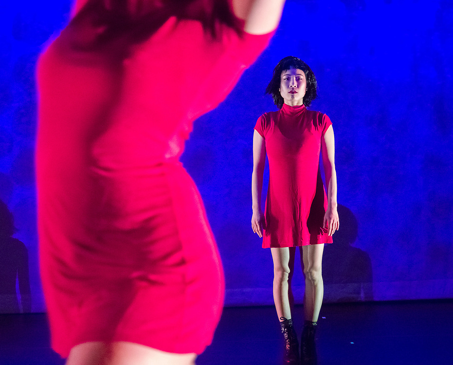 Deadly-dance by Prometheus. Flora Hyoin Kim dancer. Performance on March 23rd at Walnut Hill Theater.