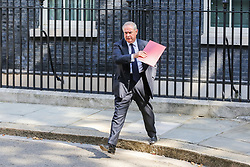 © Licensed to London News Pictures. 25/07/2019. London, UK. Attorney General GEOFFREY COX departs from No 10 Downing Street after attending Boris Johnson's first cabinet meeting. Photo credit: Dinendra Haria/LNP