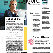 The Italian writer SIlvia Ballestra - Io Donna - Italy - April 2020.
