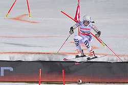 19.02.2019, Stockholm, SWE, FIS Weltcup Ski Alpin, Parallelslalom, Damen, im Bild Christina Geiger (GER) // Christina Geiger of Germany in action during the ladie's parallel slalom of FIS ski alpine world cup at the Stockholm, Sweden on 2019/02/19. EXPA Pictures © 2019, PhotoCredit: EXPA/ Nisse Schmidt<br /> <br /> *****ATTENTION - OUT of SWE*****