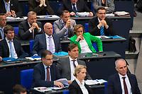 DEU, Deutschland, Germany, Berlin, 21.11.2018: Blick in die Reihen der AfD-Bundestagsfraktion (Alternative für Deutschland, AfD) bei einer Plenarsitzung im Deutschen Bundestag. Im grünen Jacket Beatrix von Storch.