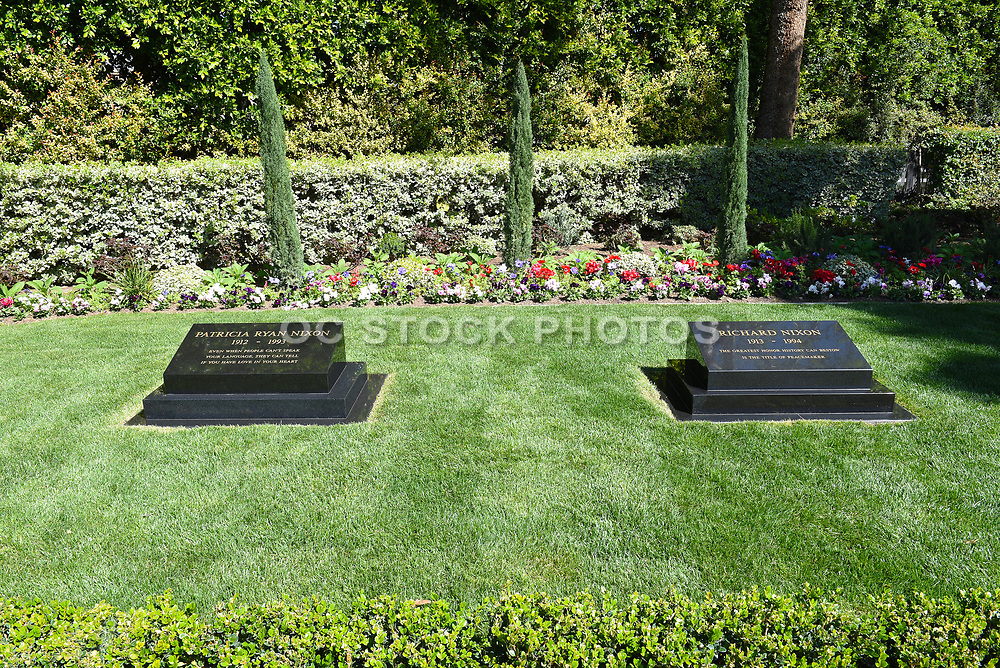 President Nixon and First Lady Patricia Burial Site at the Nixon Library and Museum