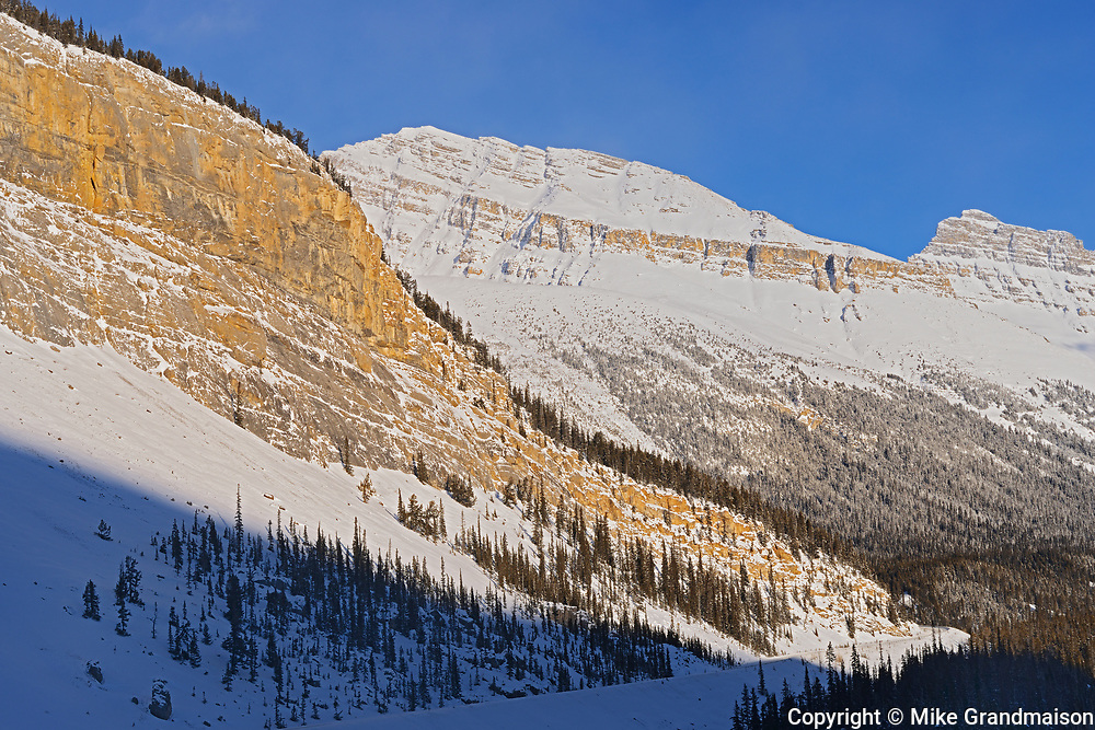 Canadian Rocky Mountains at 'Big Bend', Banff National Park, Alberta, Canada