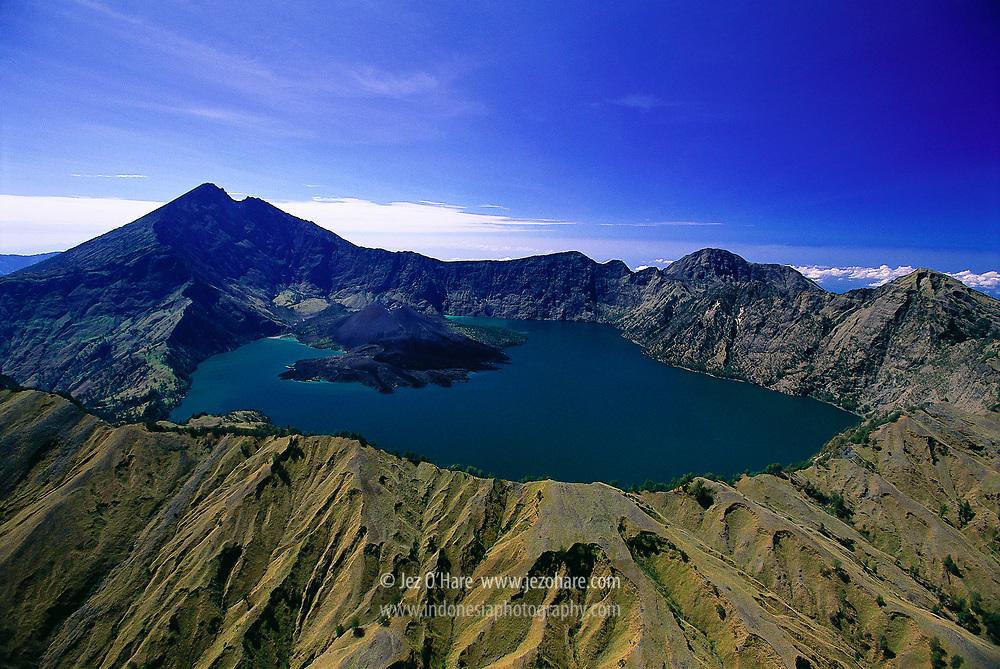 Mount Rinjani 3,726m & Lake Segara Anak, Lombok, West Nusa Tenggara, Indonesia
