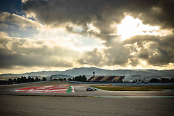 February 19, 2019 - Barcelona, Catalonia, Spain - A dragon is shaped by clouds as LEWIS HAMILTON (GBR) from team Mercedes  drives in his in his in his W10 during day two of the Formula One winter testing at Circuit de Catalunya (Credit Image: © Matthias OesterleZUMA Wire)