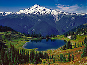 Glacier Peak Wilderness and Vicinity