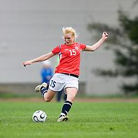 Hanna Haanes. Norway-Sweden, WU17 Four Nation's Tournament. Eerikkilä, Finland, 25.5.2007. Photo: Jussi Eskola