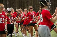 St Paul's School varsity lacrosse with New Hampton.  ©2109 Karen Bobotas Photographer