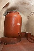 earthenware tank bodegas frutos villar , cigales spain castile and leon