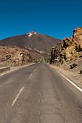 View of the volcano El Teide, Tenerife, Spain