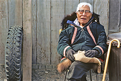 Elderly Inupiat Man