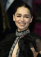 Emilia Clarke, Last Christmas - UK Premiere, BFI Southbank, London, UK, 11 November 2019, Photo by Richard Goldschmidt