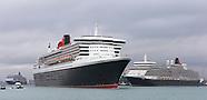 Cunard 3 Queens Sailaway