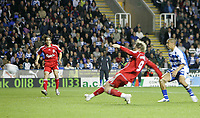 Photo: Lee Earle.<br /> Reading v Liverpool. Carling Cup. 25/09/2007. Fernando Torres (C) scores Liverpool's third.