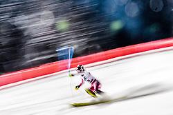 10.01.2017, Hermann Maier Weltcupstrecke, Flachau, AUT, FIS Weltcup Ski Alpin, Flachau, Slalom, Damen, 1. Lauf, im Bild Lila Lapanja (USA) // Lila Lapanja of the USA in action during her 1st run of ladie's Slalom of FIS ski alpine world cup at the Hermann Maier Weltcupstrecke in Flachau, Austria on 2017/01/10. EXPA Pictures © 2017, PhotoCredit: EXPA/ Johann Groder