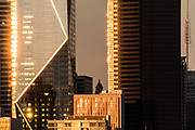 Buildings in downtown Seattle, Washington, USA  10/30/17