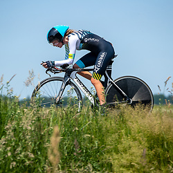 EMMEN (NED) June 16: <br />CYCLING <br />Dutch Nationals Time Trail Women Elite Petra Welmers