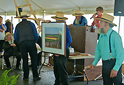 Amish Quilt and Art Sale, Fundraiser, Blair Seitz photograph, Nicholas Stoltzfus House, Wyomissing, Berks Co.,
