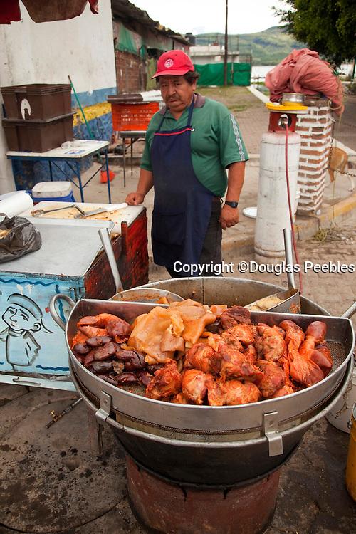 Mexican food, Los Reyes Cajititlan, Jalisco, Mexico