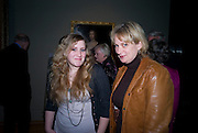 NANCY DEWE-MATHEWS; LOUISA BUCK, Van Dyck private view and dinner. Tate Britain. 16 February 2009 *** Local Caption *** -DO NOT ARCHIVE -Copyright Photograph by Dafydd Jones. 248 Clapham Rd. London SW9 0PZ. Tel 0207 820 0771. www.dafjones.com<br /> NANCY DEWE-MATHEWS; LOUISA BUCK, Van Dyck private view and dinner. Tate Britain. 16 February 2009