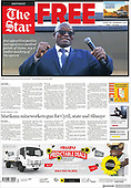 September 06, 2021 - AFRICA: Front-page: Today's Newspapers In Africa