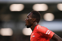 18 July 2019; Karamoko Daouda Bamba of SK Brann celebrates after scoring his side's first goal during the UEFA Europa League First Qualifying Round 2nd Leg match between Shamrock Rovers and SK Brann at Tallaght Stadium in Dublin. Photo by Eóin Noonan/Sportsfile