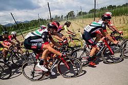 Filippo Ganna (ITA) of UAE Team Emirates, Federico Zurlo (ITA) of UAE Team Emirates during Stage 3 of 24th Tour of Slovenia 2017 / Tour de Slovenie from Celje to Rogla (167,7 km) cycling race on June 16, 2017 in Slovenia. Photo by Vid Ponikvar / Sportida