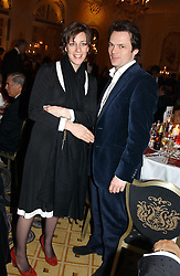 LUKE & ALICE IRWIN at a dinner in aid of the BAAF (British Association for Adoption & Fostering) held at The Savoy, London on 22nd March 2005.<br /><br />NON EXCLUSIVE - WORLD RIGHTS