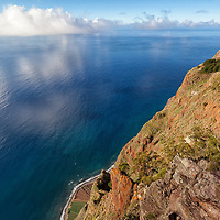 View from Cabo Girão, one of the highest cliff in Europe.