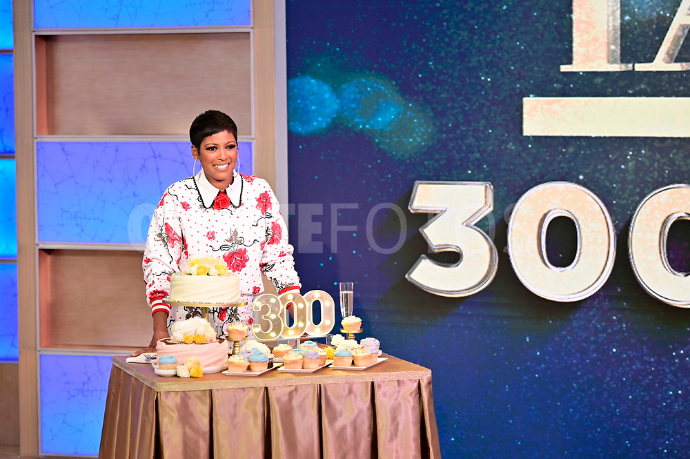 "TAMRON HALL - Airdate 4/14/21 - ""Tamron Hall"" celebrates 300 episodes on Wednesday, April 14. ""Tamron Hall"" airs weekdays in syndication on ABC.  <br /> (Walt Disney Television/Jeff Neira) <br /> TAMRON HALL"