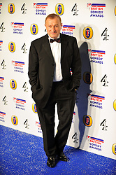 © Licensed to London News Pictures. 16/12/2011. London, England.Jim Rosenthal attends the Channel 4 British Comedy Awards  in Wembley London .  Photo credit : ALAN ROXBOROUGH/LNP