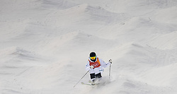 February 9, 2018 - Pyeongchang, South Korea - 180209 Ludvig FjÅllstrÅ¡m of Sweden compete in the MenÃ•s Moguls Qualification during the 2018 Winter Olympics on February 9, 2018 in Pyeongchang..Photo: Petter Arvidson / BILDBYRN / kod PA / 91956 (Credit Image: © Petter Arvidson/Bildbyran via ZUMA Press)