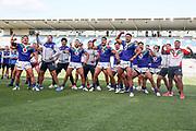 The Haka for Adam Blair. Vodafone Warriors v Manly Sea Eagles. NRL Rugby League, Central Coast Stadium, Gosford, NSW, Australia, Sunday 27th September 2020 Copyright Photo: David Neilson / www.photosport.nz
