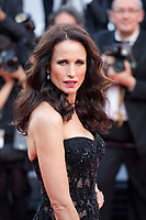 Andie MacDowell at The Killing of a Sacred Deer gala screening at the 70th Cannes Film Festival Monday 22nd May 2017, Cannes, France. Photo credit: Doreen Kennedy