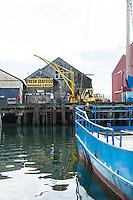 Docks in Garabaldi, OR.