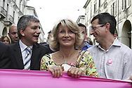 Torino, Gay Pride 2006:Nichy Vendola e Barbara Pollastrini