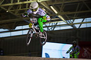 #144 (DEAN Anthony) AUS at the 2014 UCI BMX Supercross World Cup in Manchester.