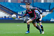 Leeds United Niall Huggins (10)  during the U23 Professional Development League match between U23 Sheffield Wednesday and U23 Leeds United at Hillsborough, Sheffield, England on 3 February 2020.
