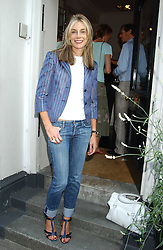 KIM HERSOV at a party to launch the Acqualuna jewellery exhibition at Allegra Hicks, 28 Cadogan Place, London on 22nd June 2005.<br /><br />NON EXCLUSIVE - WORLD RIGHTS