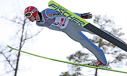 Michael Uhrmann of Germany at e.on Ruhrgas FIS World Cup Ski Jumping on K215 ski flying hill, on March 14, 2008 in Planica, Slovenia . (Photo by Vid Ponikvar / Sportal Images)./ Sportida)
