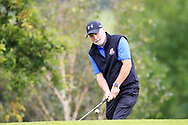 Paul Byrne (Limerick) during the final round of the All Ireland Four Ball Interclub Final, Roe Park resort, Limavady, Derry, Northern Ireland. 15/09/2019.<br /> Picture Fran Caffrey / Golffile.ie<br /> <br /> All photo usage must carry mandatory copyright credit (© Golffile | Fran Caffrey)