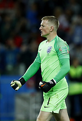 July 3, 2018 - Moscow, Russia - Round of 16 England v Colombia - FIFA World Cup Russia 2018..Jordan Pickford (England) celebration during the penalty shootout at Spartak Stadium in Moscow, Russia on July 3, 2018. (Credit Image: © Matteo Ciambelli/NurPhoto via ZUMA Press)