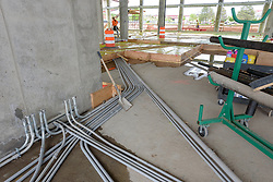 Boathouse at Canal Dock Phase II | State Project #92-570/92-674 Construction Progress Photo Documentation No. 11 on 23 May 2017. Image No. 18 First Floor Conduit